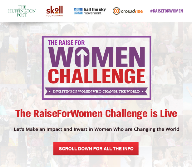 The RaiseForWomen Challenge